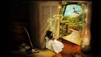 Image result for fantasy book reader